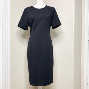Trina Turk Museo Textured Ponte Midi Bodycon Dress